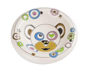 Cendrier Rond Standard (Funny Monkey)