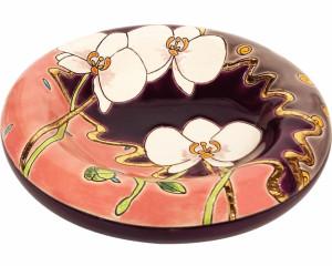 Vide Poches Rond Standard (Orchidées Recoloré)